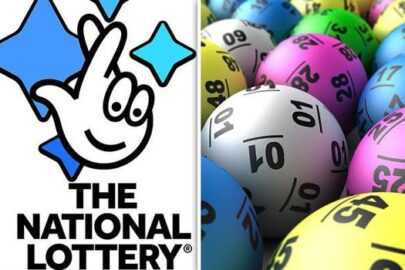 between happiness and a lottery win