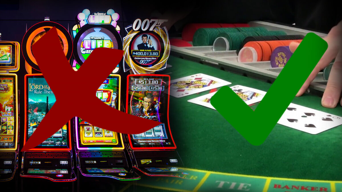 Casino Table Games and Slots